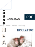 Heat and Sound Insulation