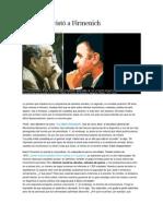 Gabo Entrevistó a Firmenich