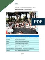 """Programa """"Capacitación y Difusión Cultural en El Departamento de Tarija"""""""