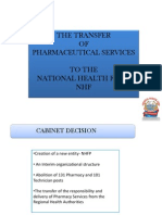 Pharmacy Services Administrators Perspective