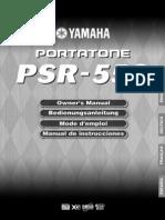 PSR550S