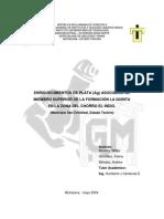 Enriquecimientos de Plata asociados al miembro superior de la formación La Quinta, Venezuela