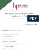 SHP Inversiones Hoteleras 2013