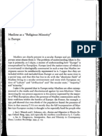 Formations of the Secular Christanity Islam and Modernity Chapter 5