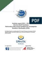 UArctic EALÁT Institute Activity Report 2011-4