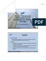 PTPSE- Centre of Technology for Energy Resources
