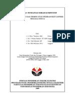Perancangan Dan Pembuatan PLT Surya