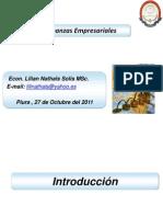 Finanzas Corporativas 2011 i Lns 271011