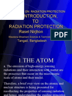 Workshop on Radiation Protection