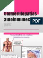 Glomerulopatías Autoinmunes- Expo