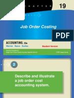 08 Job Order Costing