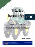 Uso de Maquinaria Forestal