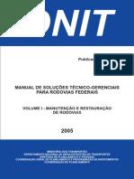 Vol 1 Manual de Solucoes Tecnico-Gerenciais Para Rod Federais