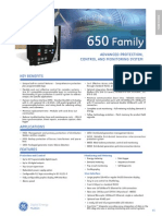650 Family (GE digital Energy)