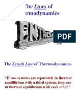 Laws of Thermo
