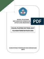 Modul 5 Evaluasi Pelaporan Dan Tindak Lanjut Pelayanan Peminatan Peserta Didik