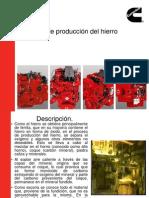 Proceso de Producción Del Hierro