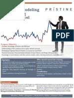 Pristine-Financial Modeling Brochure