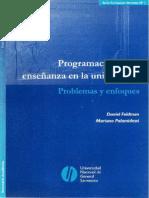 Feldman, Palamidessi Programacion de la ensenaza en la universidad.pdf