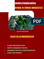 114756464 Presentacion Sobre Ordenamiento Territorial en Cuencas Hidrograficas Congreso Ingenieria Agricola