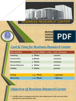 Project Mgt (Business Research Center)