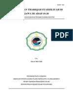 Penyebaran Thariqah Syadziliyah Di Jawa Di Abad 19-20