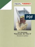 ARPS Fascicule 62
