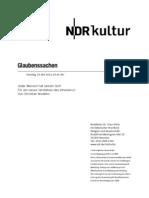 gsmanuskript630 - Norddeutscher Rundfunk Skript (NDR-Skript)