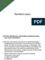 Opthalmalogy Case