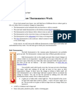 How Thermometers Work 1
