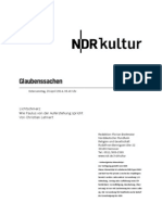 gsmanuskript619 - Norddeutscher Rundfunk Skript