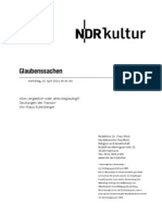 gsmanuskript617 - Norddeutscher Rundfunk Skript