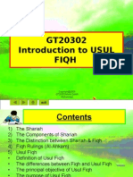 Lecture Notes 1, Usul Fiqh