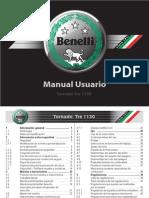 Manual de Usuario Benelli Tornado Tre Español