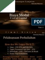 1 - Cost of Capital-part I
