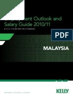 Malaysia Salary Guide 2010 Final