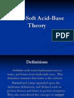 Hard Soft Acid Base Theory