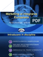 Marketing Si Integrarea Europeana