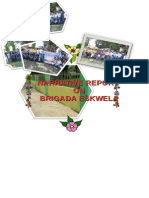 Narrative Report on Brigada Eskwela 2014