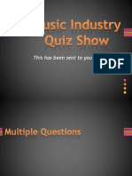 Music Industry Quiz