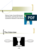 Interviewing for Research