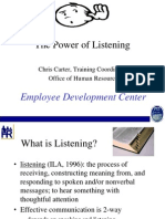 Power of Listening