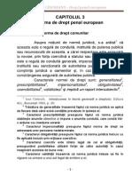 Drept Penal European - Curs 3