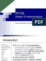 RTOS Design & Implementation