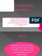 Hipoglikemia Neonatus