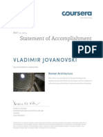 Statement for Roman Architecture
