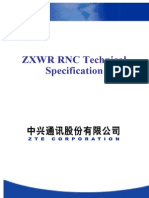 ZXWR RNC Techinical Specification V3.24