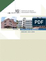 IIHMR Brochure