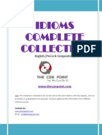 Idioms Complete Collection