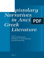 Hodkinson - Epistolary Narratives in Ancient Greek Literature  2013.pdf